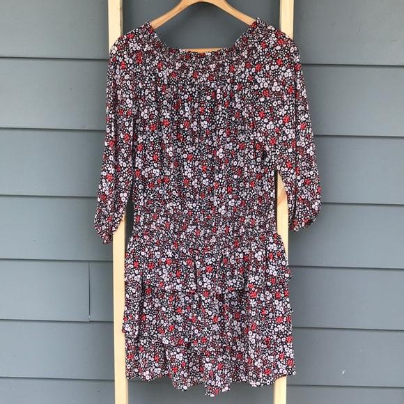 Michael Kors Floral Summer Off shoulder Dress